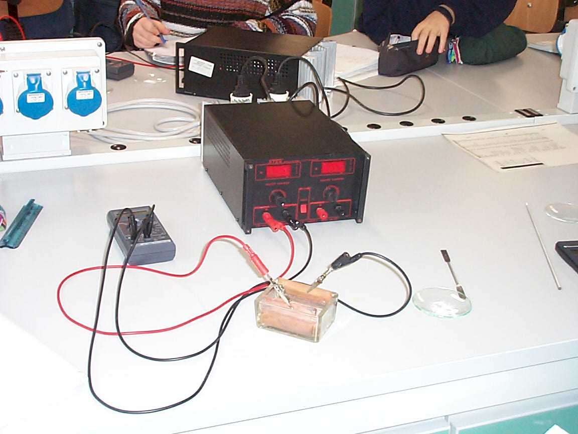 Misura conducibilità elettrica